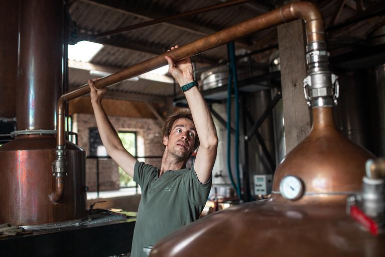Hautefeuille's Distillery - Aurélien Buttin - Photographer